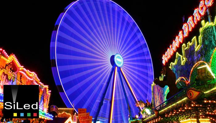 Luces Led Para Juegos Mecanicos Y Ferias